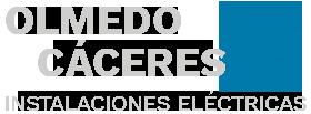 Olmedo Cáceres Instalaciones Eléctricas Logo